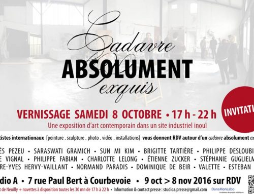 CADAVRE ABSOLUMENT EXQUISCourbevoie, Grand Paris
