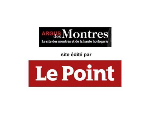 ARGUS DES MONTRES  I  Site édité par LE POINT– Déc. 2013