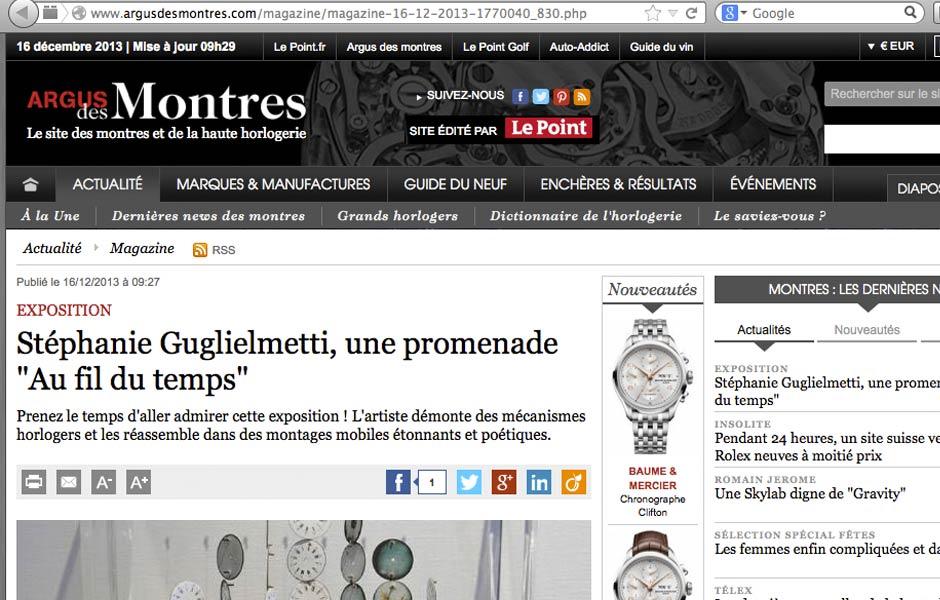 Argus des Montres - Le Point.fr