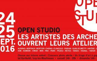 ARCA, Ateliers Portes ouvertes 2016