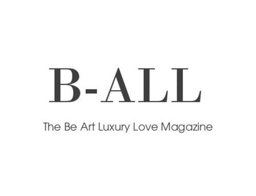 B-ALL  I  The Be Art Luxury Love Magazine #17 – Été 2016