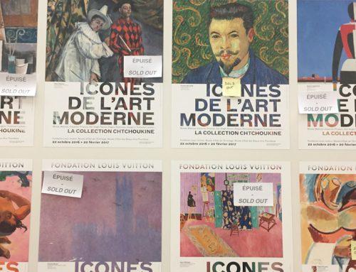 Coup de cœur  ICÔNES DE L'ART MODERNE, Collection Chtchoukine, Fondation Louis Vuitton Paris, Jusqu'au 5 mars 2017